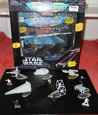Vintage 1994 Galoob Micro Machines Star Wars Galaxy Battle Collector's Set Boxed