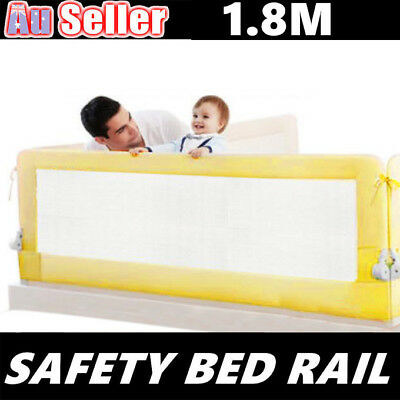 1.8m Child Safety Bed Rail Toddler Baby Bedrail Fold Cot Guard Protection