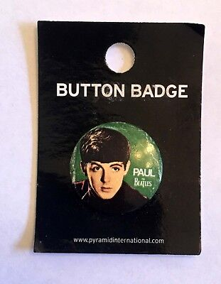 Beatles Early Look Paul McCartney badge from 2008 - . Made in the UK 25 mm dia