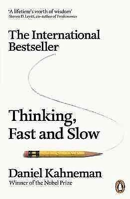Thinking, Fast and Slow, Paperback by Kahneman, Daniel, ISBN 0141033576, ISBN...