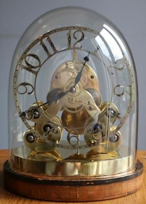 John Pace Double Fusee Month Duration Skeleton clock 1850 WATCH VIDEO