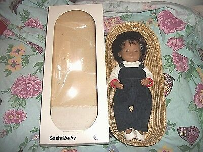 Sasha Baby Girl Playsuit 505 Doll w/Box/Basket/Booklet Original & New Outfit