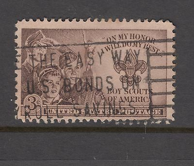 UNITED STATES 1950  3c  *Boy Scouts USED.