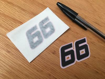 Tom Sykes Race Number 66 (Very Small Pair)