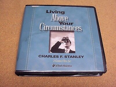 Living Above Sus Circunstancias By Charles F Stanley en Touch Ministries 2Cds