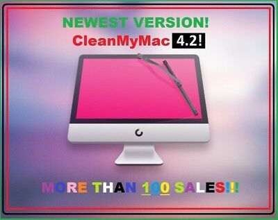 CleanMyMac X 4.2.1!. NEWEST Version! Sale!  | Free Update!  | More 500 sales!