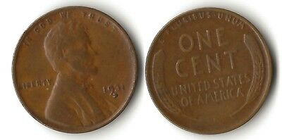 1931-D   Lincoln Wheat Cent   *  Fine to Very Fine  *