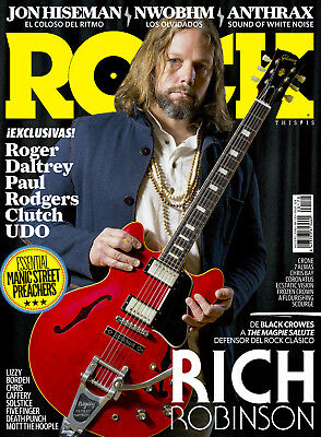 This is Rock Magazine Spain Issue 170 - August 2018 - RICH ROBINSON - CLUTCH