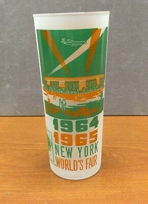 1964-1965 NY Worlds's Fair ~ Collectible Glass Cup ~ AWESOME!!!