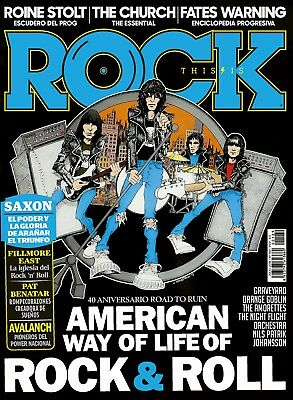 This is Rock Magazine Spain Issue 169 - July 2018 - THE RAMONES - ROAD TO RUIN