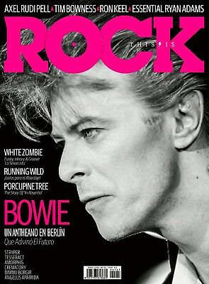 This is Rock Magazine Spain Issue 167 - May 2018 - DAVID BOWIE - PORCUPINE TREE