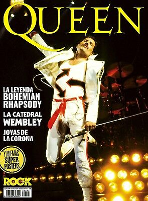 NEW! QUEEN FREDDIE MERCURY Special magazine Spain + Super Posters December 2018