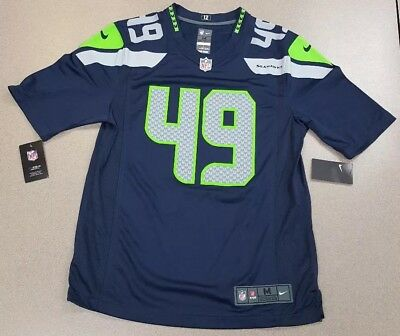 eb9a6ba4c NWT Nike Shaquem Griffin #49 SEATTLE SEAHAWKS Game Jersey Mens Size Medium