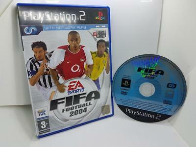 Fifa Football 2004  Sony PlayStation 2 PS2 Game
