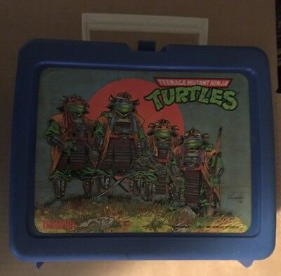 1991 Thermos Teenage Mutant Ninja Turtles Lunch Box TMNT Mirage Stuios Thermos