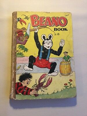 THE BEANO BOOK 1954 vintage comic annual y