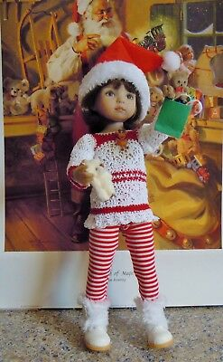 "SANTA'S HELPER made for 13""  Effner Little Darling dolls & similar size"