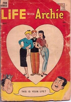 Life With Archie #1 Archie Comics Classic Rare Premiere Issue 1958