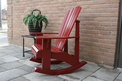 Adirondack Rocking Chair Plans - Full Size Patterns