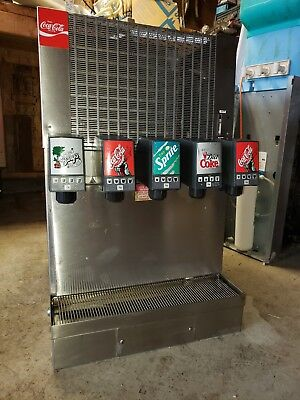 coke fountain dispenser