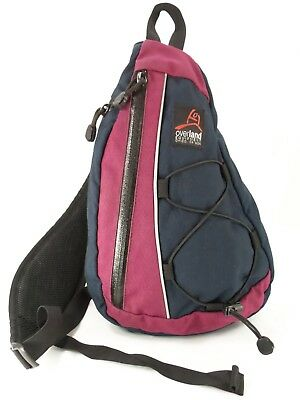 Overland Equipment 1 Shoulder Sling Backpack Crossbody Purse Travel Bag USA GUC