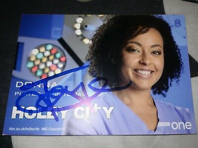Jaye Jacobs (Holby City) Signed New Cast Card
