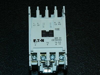 Eaton / Cutler Hammer CE15ANS3BB Contactor Size A  - NEW IN BOX !!