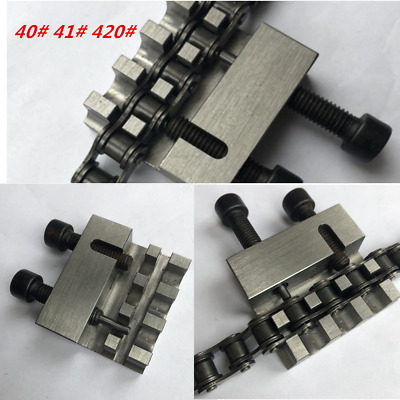 No40/41/420 Motorcycle Chain Splitter Riveting Instrument Heavy Duty Link Parts