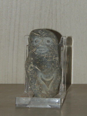 Antique Stone Figure statuette,Fertility ,mother godess,Idol,god,Humanoid,Alien
