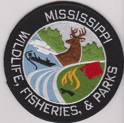 Mississippi Wildlife Fisheries & Parks Park Ranger Game Warden Police Patch