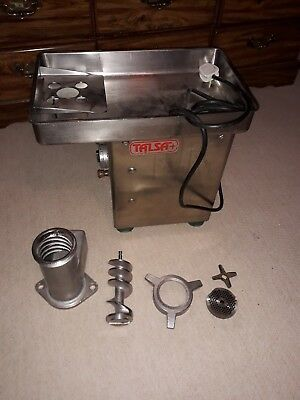 Talsa 1.75hp meat grinder mincer professional. Model W22