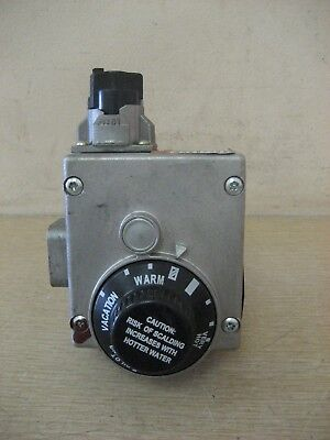 Bradford White 222-46181-01A 37C73U-724 Water Heater Gas Valve Thermostat Used