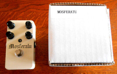 Lovepedal Mosferatu Boutique Overdrive w/Box  NEW OTHER