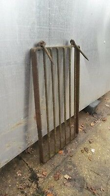 Victorian Wrought Iron Well Cover/Sluice