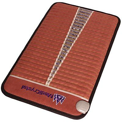 """Far InfraRed Amethyst Mat Compact PRO 73""""L x 29""""W Ion-Therapy Deep Penetration"""