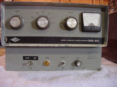 Gonset GSB-201 HF linear power amplifier in working condition
