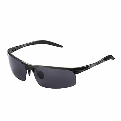 CoolWow Polarized Sports Sunglasses For Men Women Running Cycling Driving Golf