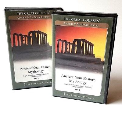 The Great Courses: Ancient Near Eastern Mythology Parts 1&2 Audio Cassette Tapes