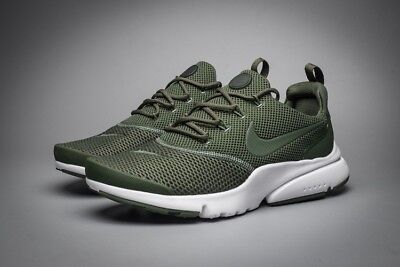 Nike Air Presto Fly Trainers Olive Green Size 8.5 Brand New in Box