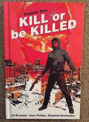 Kill Or Be Killed Hardcover Graphic Novel Ed Brubaker NYCC SDCC Exclusive Image