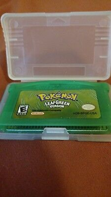 Pokemon LEAF GREEN Version (Gameboy Advance)