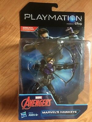 @New@ Playmation Marvel Avengers Hawkeye Hero Smart Figure Computers Tablets To