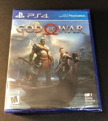 God of War (Sony PlayStation 4, 2018) Brand New FACTORY SEALED ps4