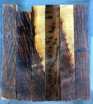 pen blanks, wood turning, tiger myrtle