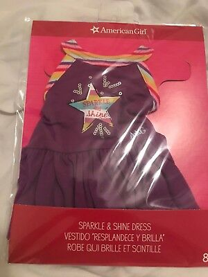 American Girl Truly Me Sparkle and Shine Dress New in Package