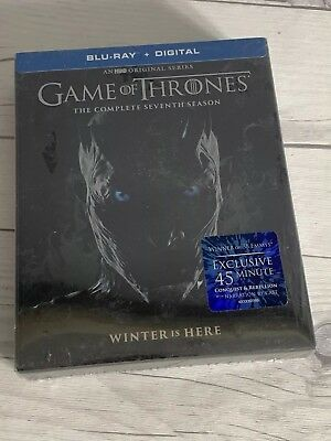Game Of Thrones Season 7 Blu Ray + Digital + 45 Minute Conquest & Rebellion New