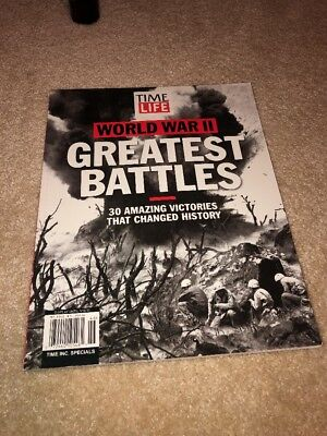 Time/Life WORLD WAR II GREATEST BATTLES:30 Amazing Victories Changed History