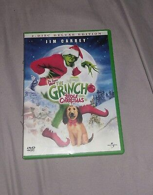 The Grinch 2 Disk Deluxe Edition DVD