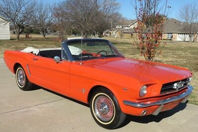 1965 Ford Mustang Convertible 1965 Ford Convertible Mustang 289    C-CODE