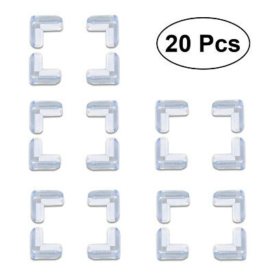 20pcs Baby Kids Safety Desk Table Edge Cushion Cover Protector Corner Guard